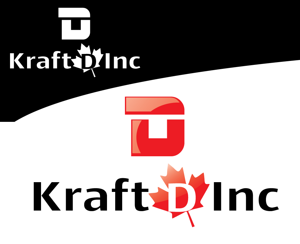 Logo Design by 354studio - Entry No. 75 in the Logo Design Contest Unique Logo Design Wanted for Kraft D Inc.