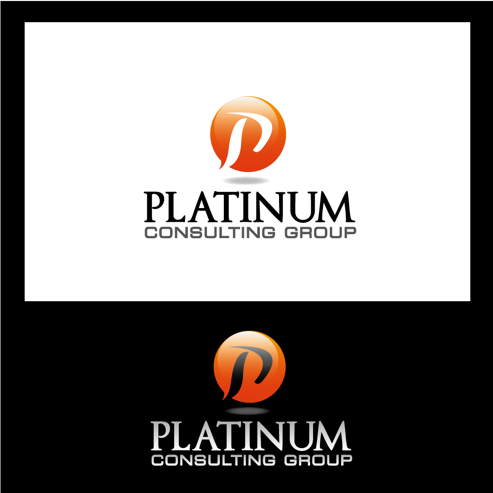 Logo Design by rockin - Entry No. 2 in the Logo Design Contest Captivating Logo Design for Platinum Consulting Group.