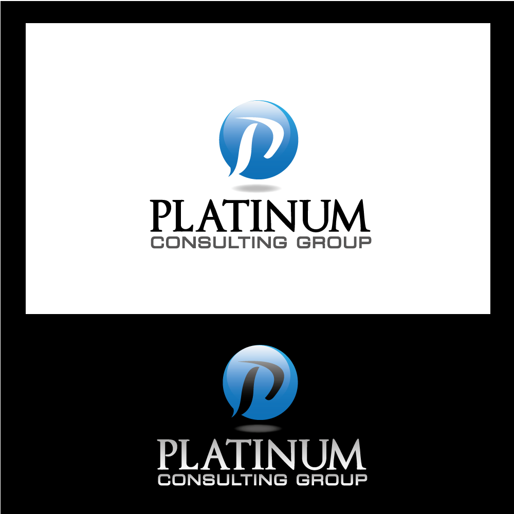 Logo Design by rockin - Entry No. 3 in the Logo Design Contest Captivating Logo Design for Platinum Consulting Group.