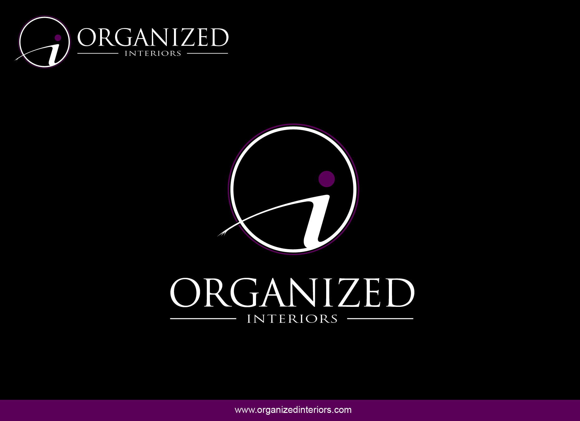 Logo Design by omARTist - Entry No. 138 in the Logo Design Contest Imaginative Logo Design for Organized Interiors.