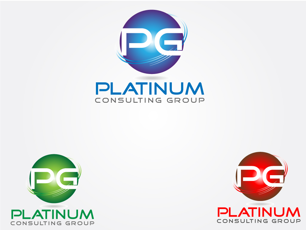 Logo Design by Jagdeep Singh - Entry No. 4 in the Logo Design Contest Captivating Logo Design for Platinum Consulting Group.