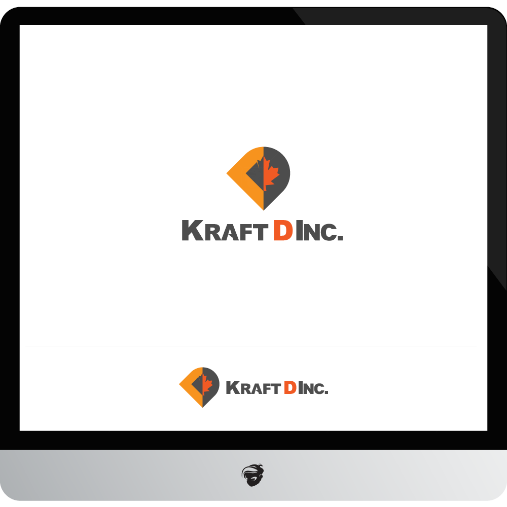 Logo Design by zesthar - Entry No. 76 in the Logo Design Contest Unique Logo Design Wanted for Kraft D Inc.