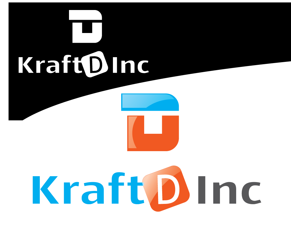 Logo Design by 354studio - Entry No. 77 in the Logo Design Contest Unique Logo Design Wanted for Kraft D Inc.
