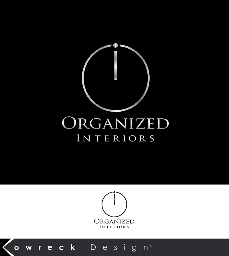 Logo Design by kowreck - Entry No. 151 in the Logo Design Contest Imaginative Logo Design for Organized Interiors.