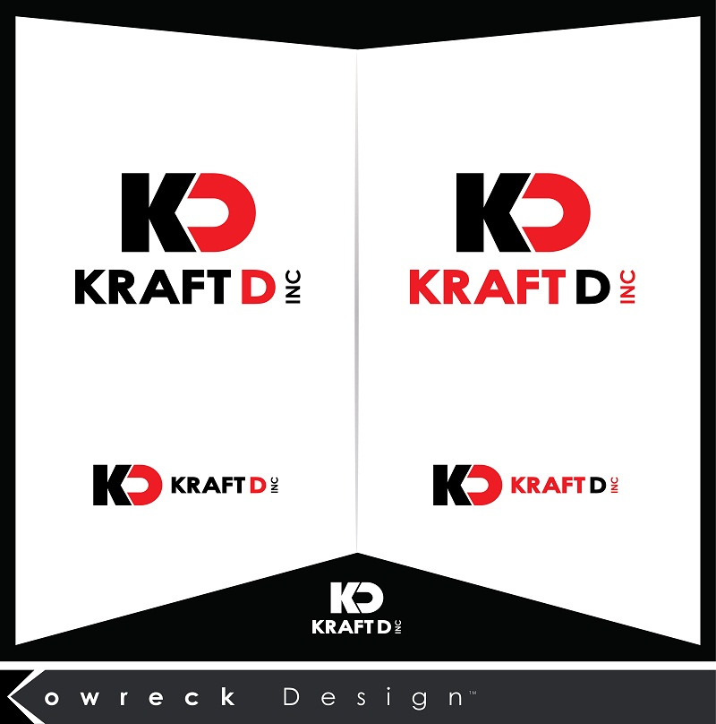 Logo Design by kowreck - Entry No. 81 in the Logo Design Contest Unique Logo Design Wanted for Kraft D Inc.