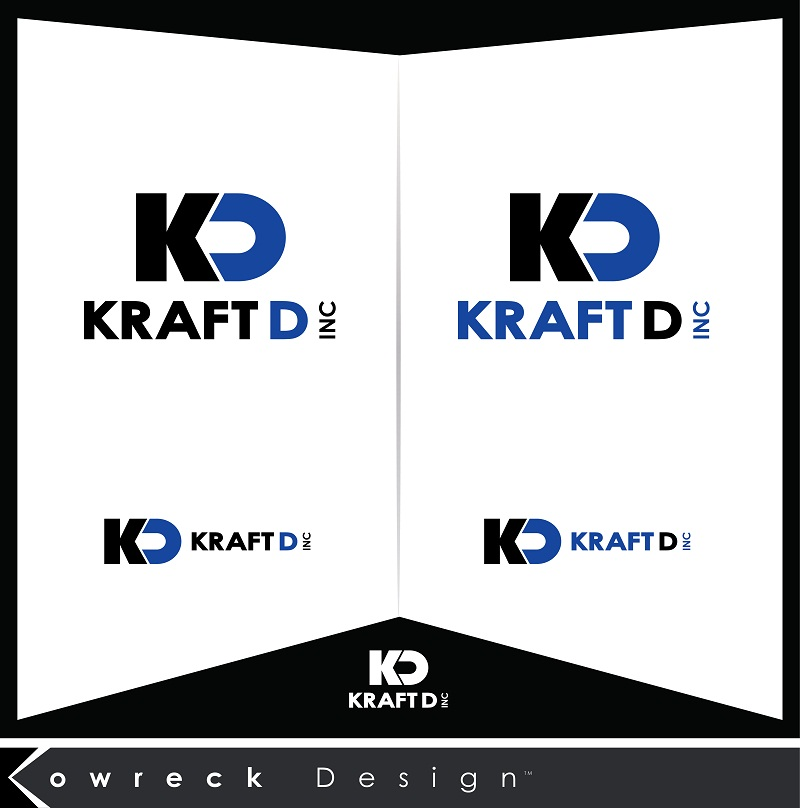 Logo Design by kowreck - Entry No. 82 in the Logo Design Contest Unique Logo Design Wanted for Kraft D Inc.