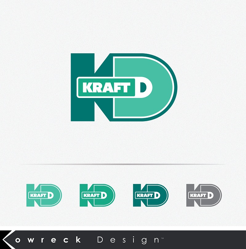 Logo Design by kowreck - Entry No. 84 in the Logo Design Contest Unique Logo Design Wanted for Kraft D Inc.