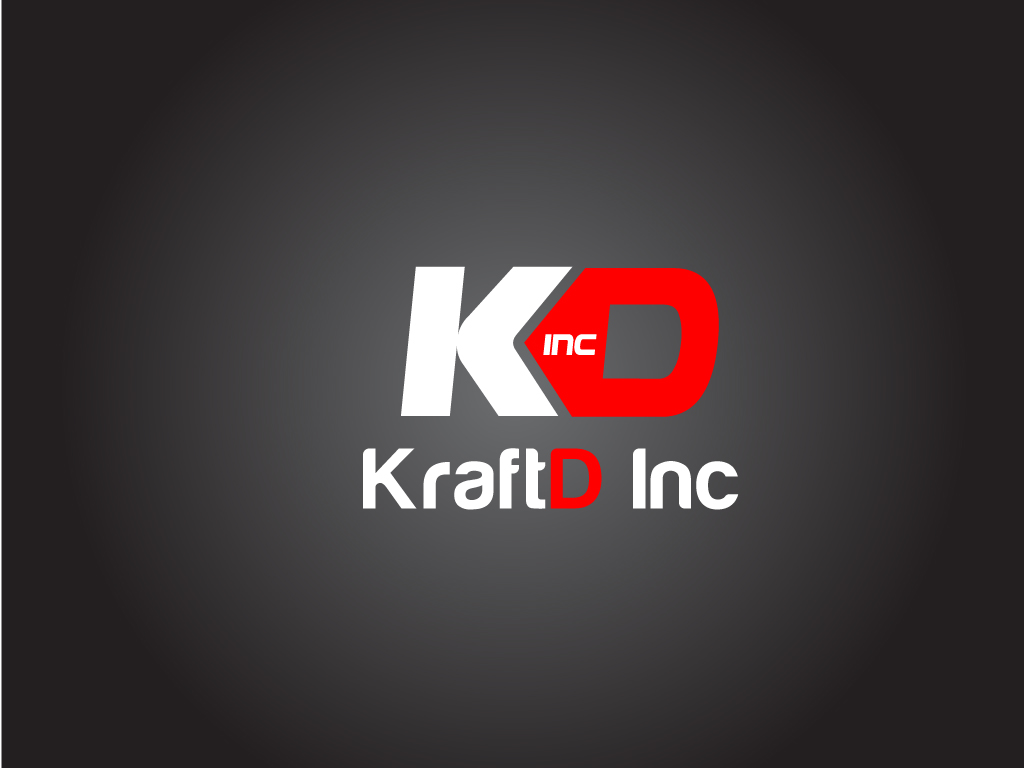 Logo Design by Jagdeep Singh - Entry No. 85 in the Logo Design Contest Unique Logo Design Wanted for Kraft D Inc.