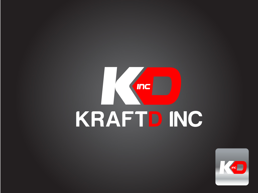 Logo Design by Jagdeep Singh - Entry No. 86 in the Logo Design Contest Unique Logo Design Wanted for Kraft D Inc.