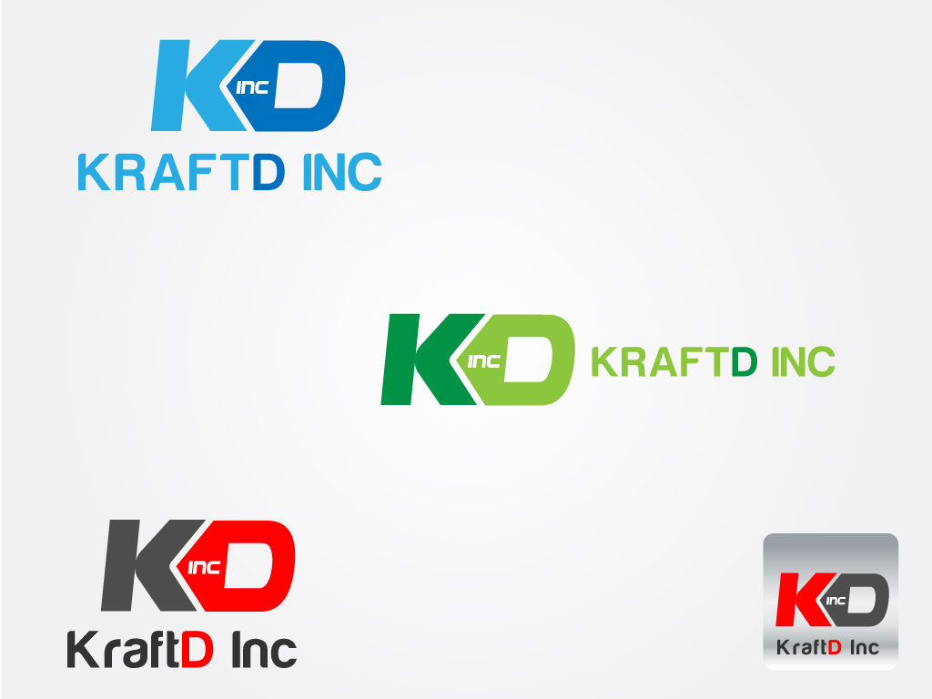 Logo Design by Jagdeep Singh - Entry No. 87 in the Logo Design Contest Unique Logo Design Wanted for Kraft D Inc.