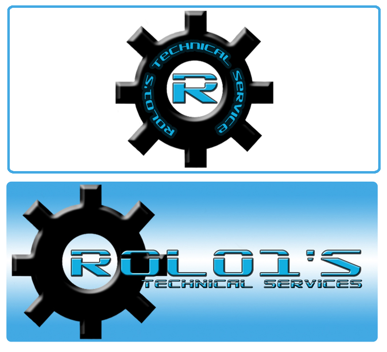 Logo Design by Aries Monta - Entry No. 35 in the Logo Design Contest Inspiring Logo Design for Rolo1's Technical Services.