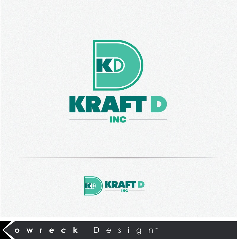 Logo Design by kowreck - Entry No. 89 in the Logo Design Contest Unique Logo Design Wanted for Kraft D Inc.