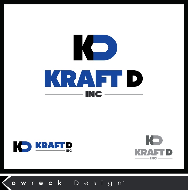 Logo Design by kowreck - Entry No. 90 in the Logo Design Contest Unique Logo Design Wanted for Kraft D Inc.