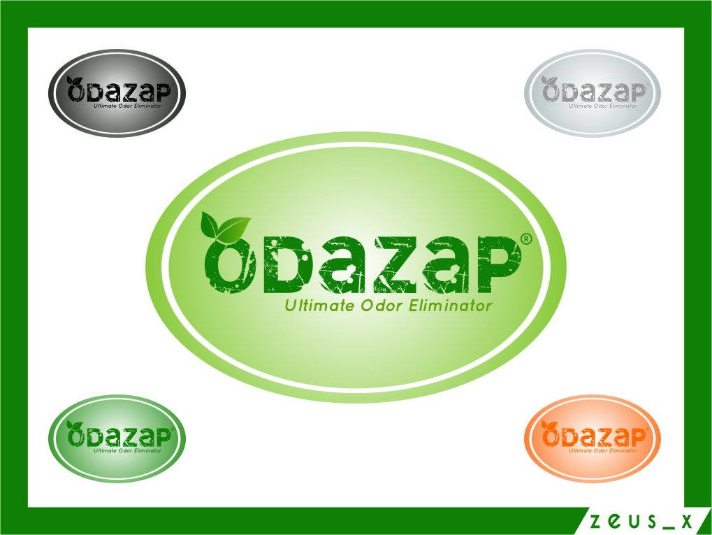 Logo Design by RasYa Muhammad Athaya - Entry No. 82 in the Logo Design Contest New Logo Design for ODAZAP.