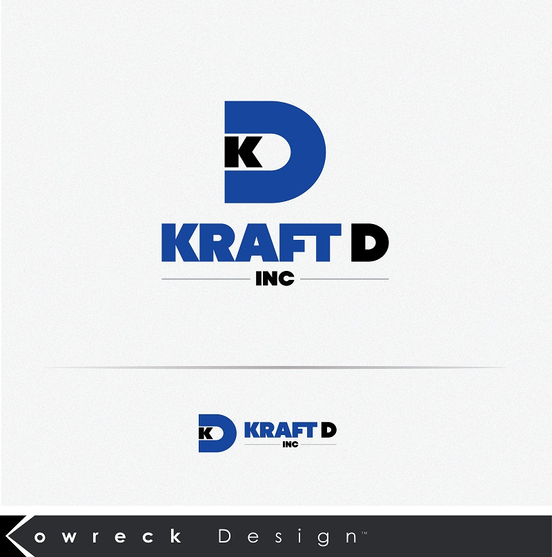 Logo Design by kowreck - Entry No. 91 in the Logo Design Contest Unique Logo Design Wanted for Kraft D Inc.