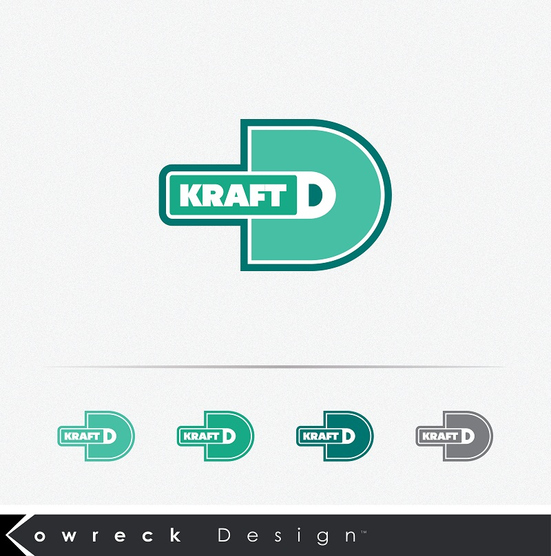 Logo Design by kowreck - Entry No. 92 in the Logo Design Contest Unique Logo Design Wanted for Kraft D Inc.