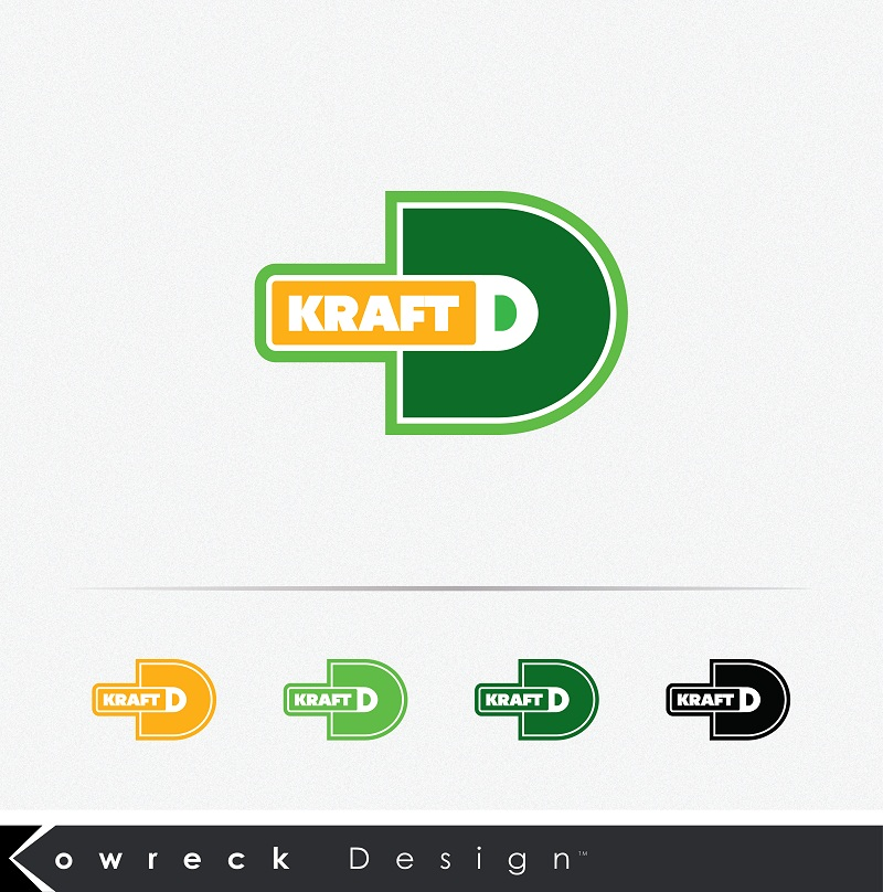 Logo Design by kowreck - Entry No. 94 in the Logo Design Contest Unique Logo Design Wanted for Kraft D Inc.