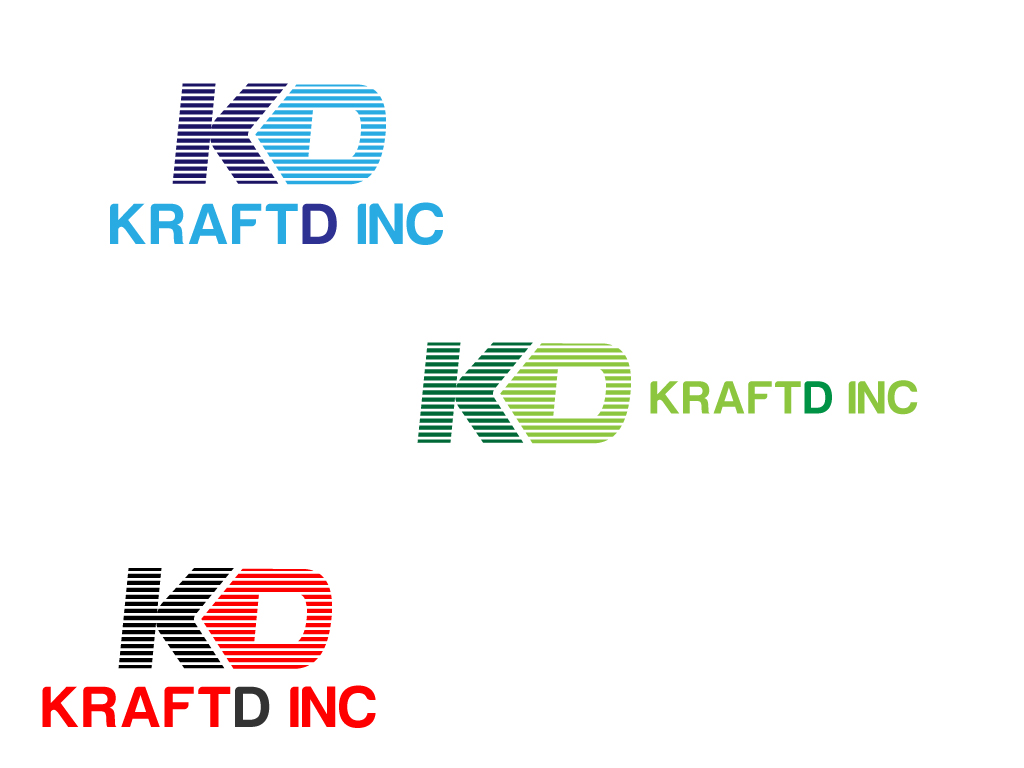 Logo Design by Jagdeep Singh - Entry No. 98 in the Logo Design Contest Unique Logo Design Wanted for Kraft D Inc.