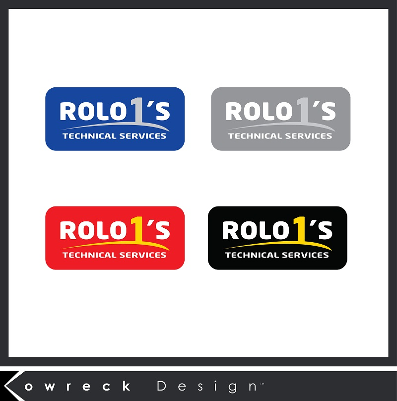 Logo Design by kowreck - Entry No. 38 in the Logo Design Contest Inspiring Logo Design for Rolo1's Technical Services.