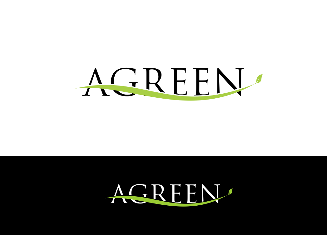 Logo Design by Private User - Entry No. 24 in the Logo Design Contest Inspiring Logo Design for Agreen.