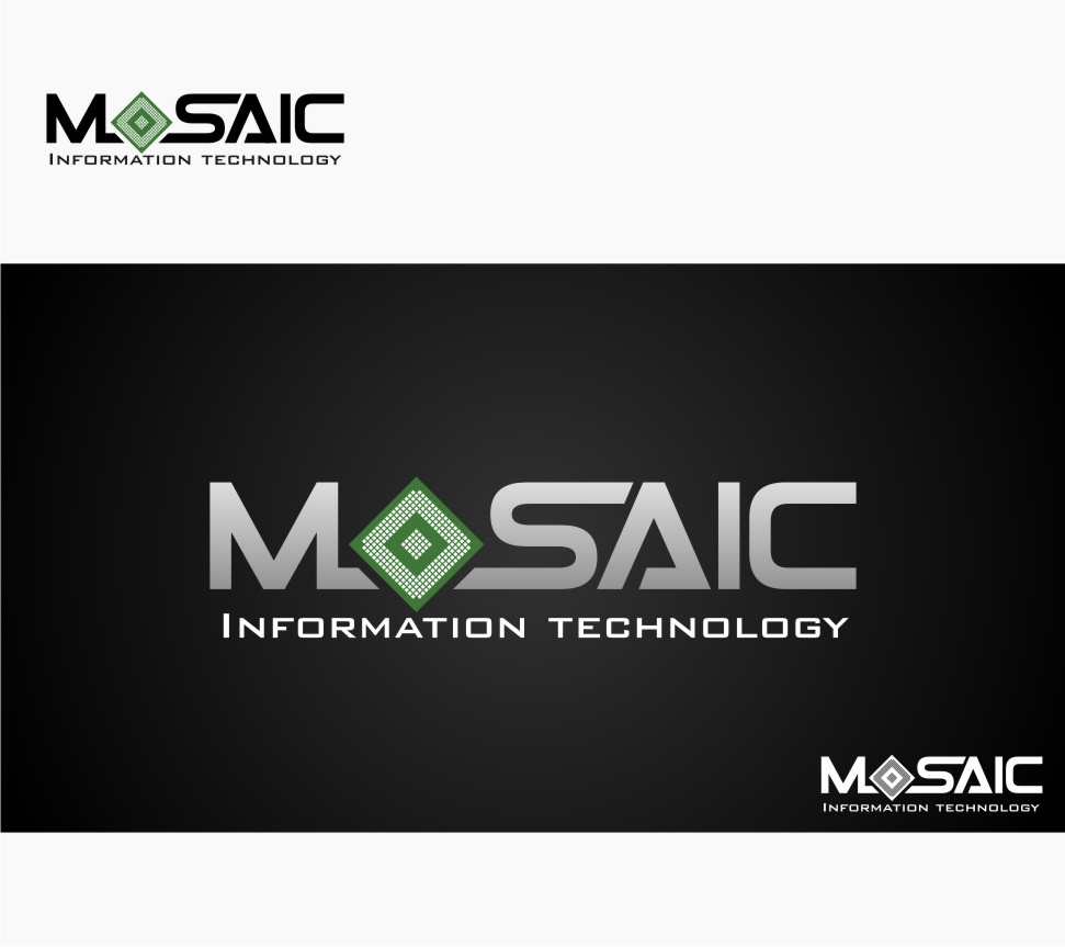Logo Design by Muhammad Nasrul chasib - Entry No. 32 in the Logo Design Contest Mosaic Information Technology Logo Design.