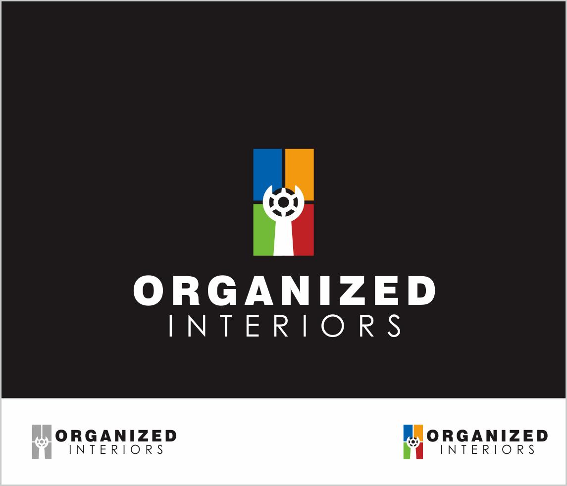 Logo Design by Armada Jamaluddin - Entry No. 156 in the Logo Design Contest Imaginative Logo Design for Organized Interiors.