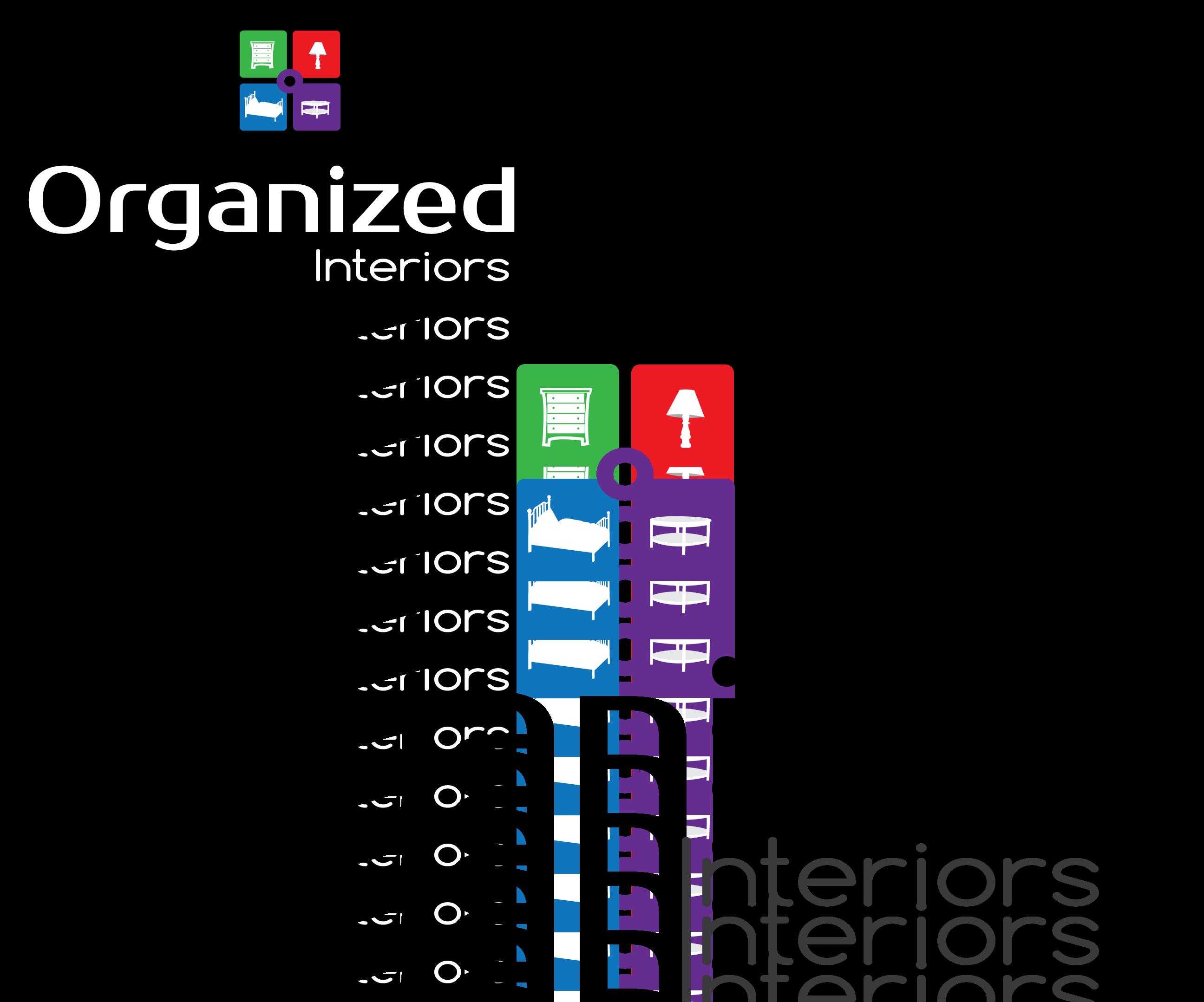 Logo Design by 354studio - Entry No. 158 in the Logo Design Contest Imaginative Logo Design for Organized Interiors.