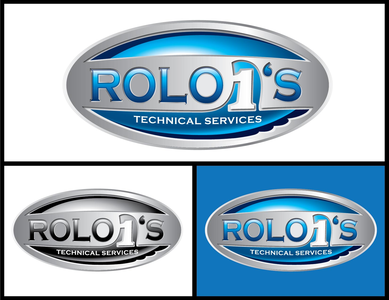 Logo Design by Emil Angelo Osias - Entry No. 41 in the Logo Design Contest Inspiring Logo Design for Rolo1's Technical Services.