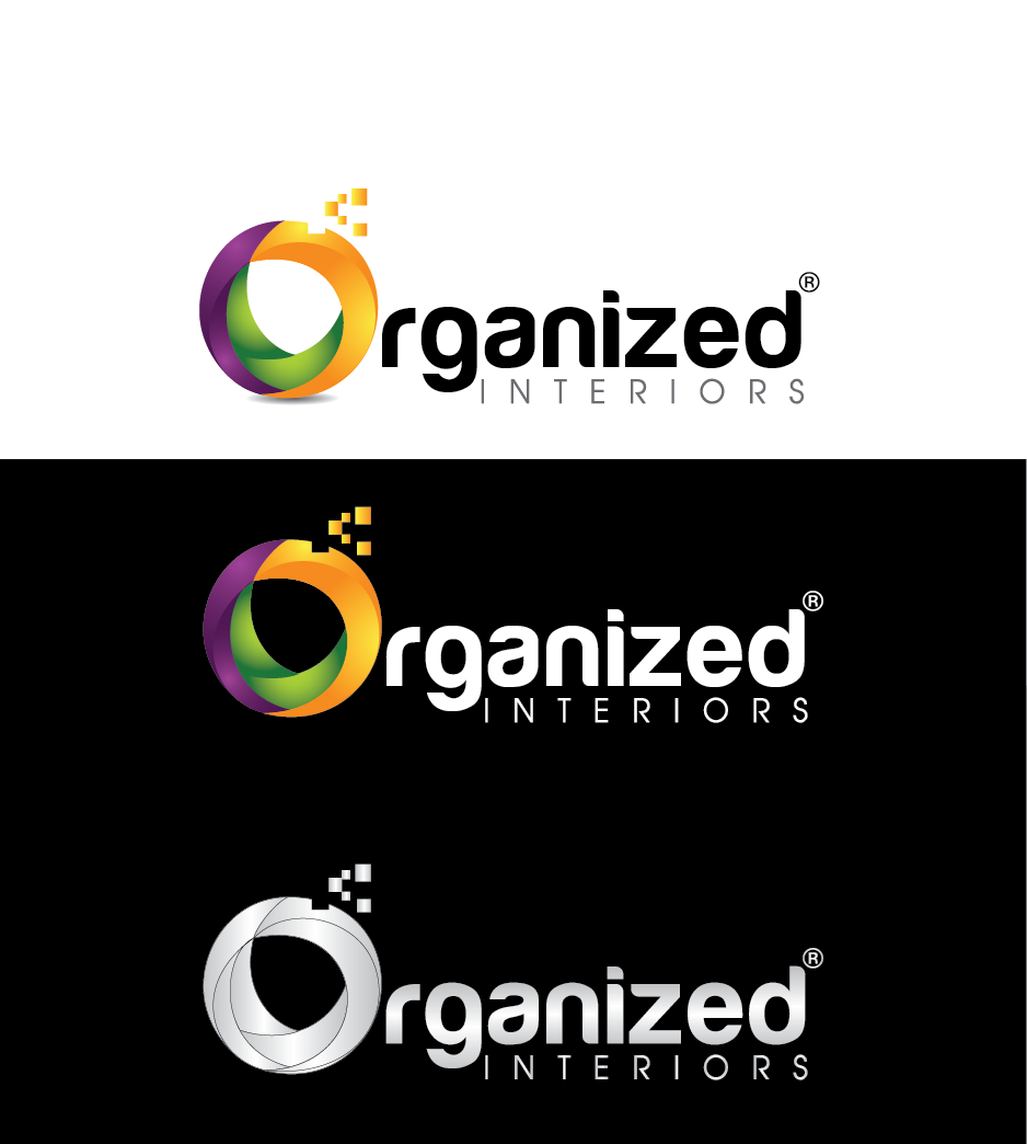 Logo Design by Private User - Entry No. 162 in the Logo Design Contest Imaginative Logo Design for Organized Interiors.