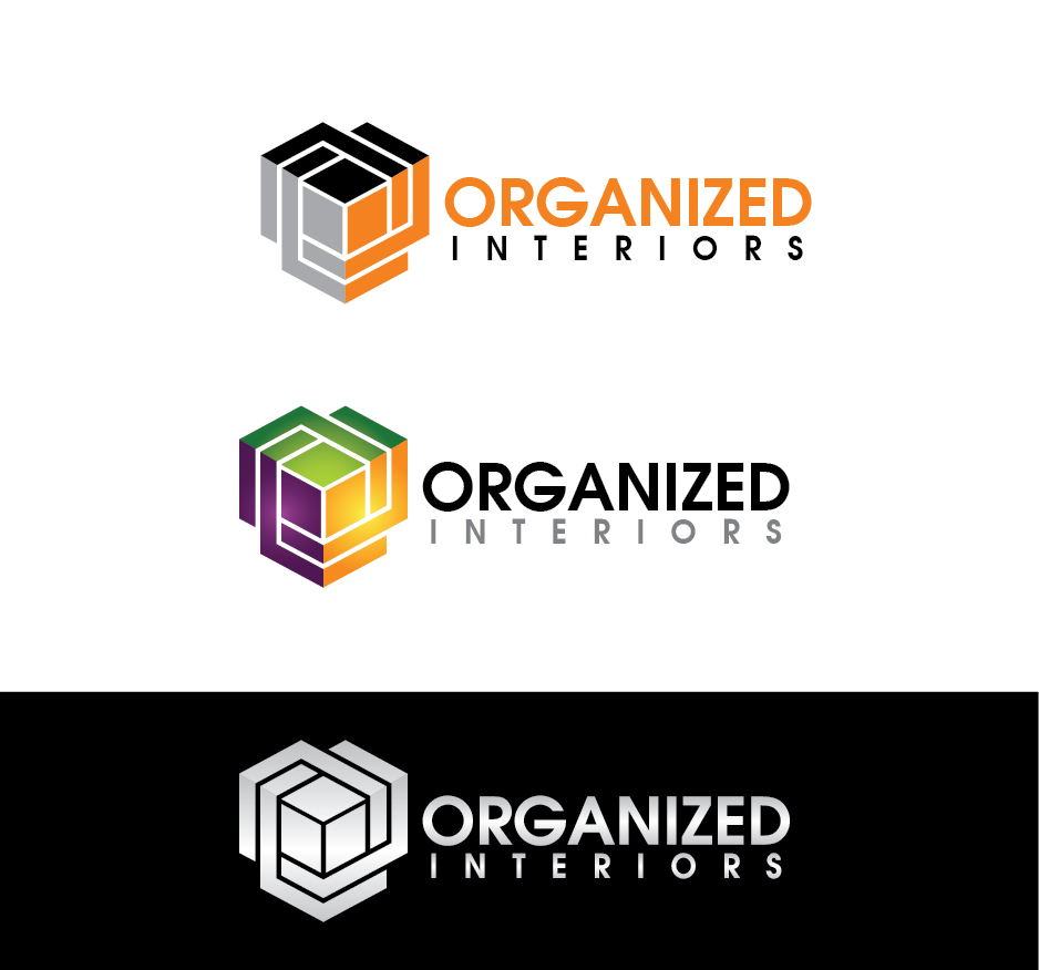 Logo Design by Private User - Entry No. 164 in the Logo Design Contest Imaginative Logo Design for Organized Interiors.