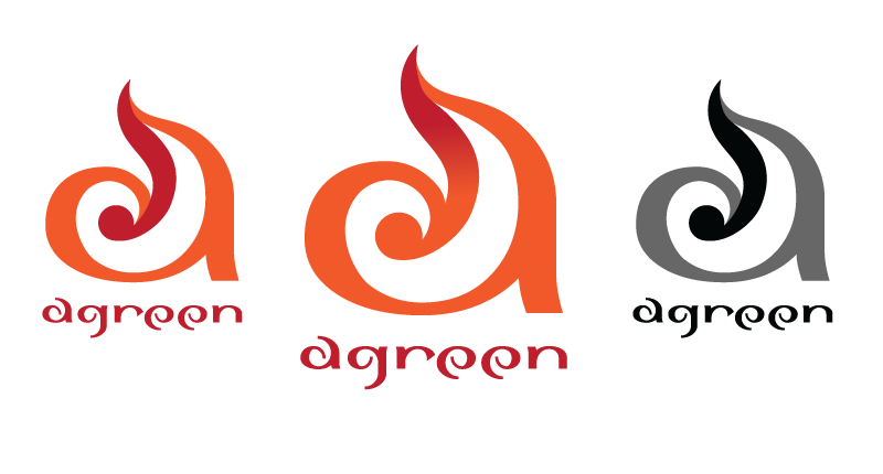 Logo Design by Christina Evans - Entry No. 27 in the Logo Design Contest Inspiring Logo Design for Agreen.