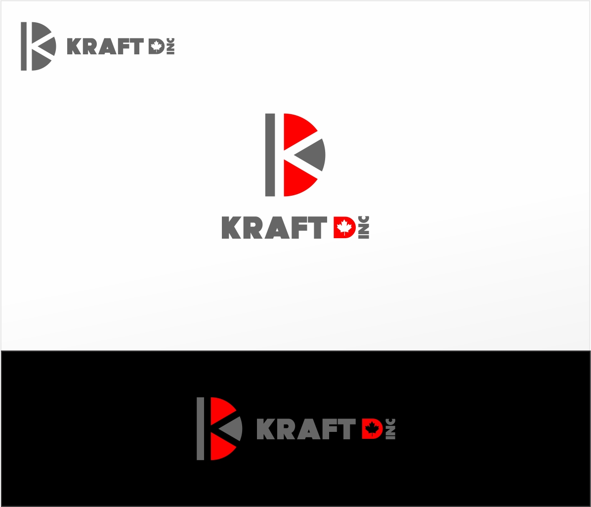 Logo Design by haidu - Entry No. 107 in the Logo Design Contest Unique Logo Design Wanted for Kraft D Inc.