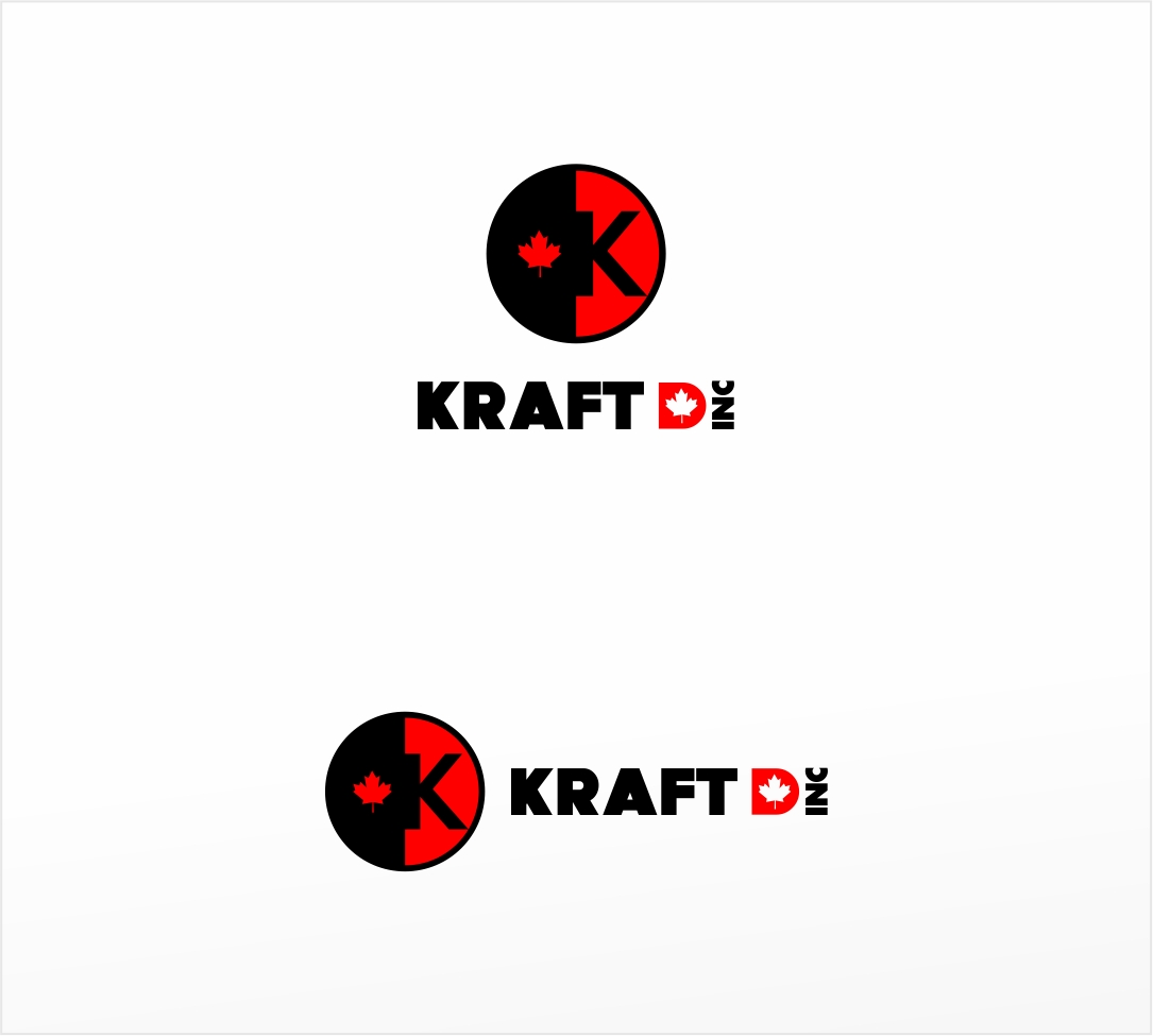Logo Design by haidu - Entry No. 108 in the Logo Design Contest Unique Logo Design Wanted for Kraft D Inc.