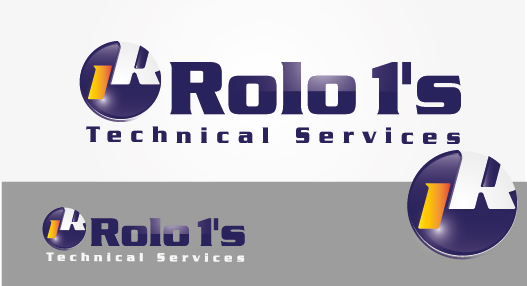Logo Design by VENTSISLAV KOVACHEV - Entry No. 42 in the Logo Design Contest Inspiring Logo Design for Rolo1's Technical Services.