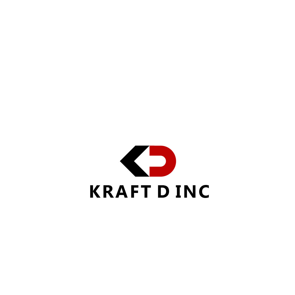 Logo Design by Private User - Entry No. 109 in the Logo Design Contest Unique Logo Design Wanted for Kraft D Inc.