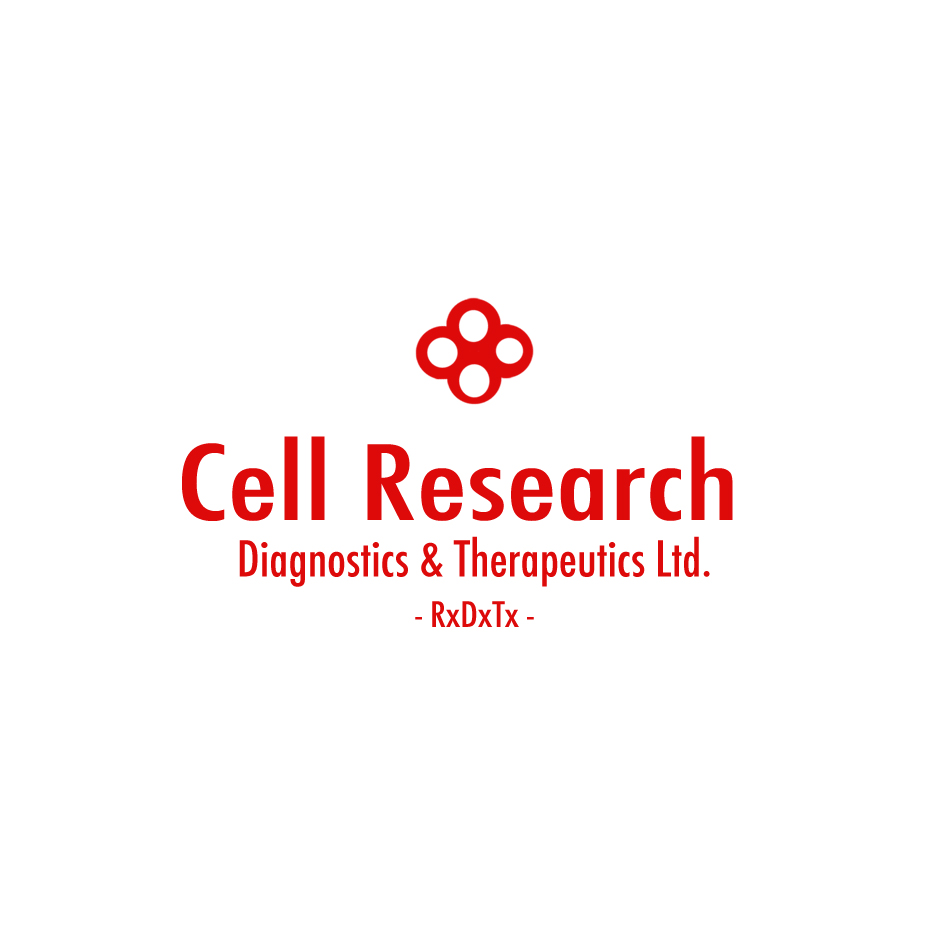 Logo Design by Pboy1 - Entry No. 13 in the Logo Design Contest Cell Research, Diagnostics & Therapeutics Ltd (RxDxTx).