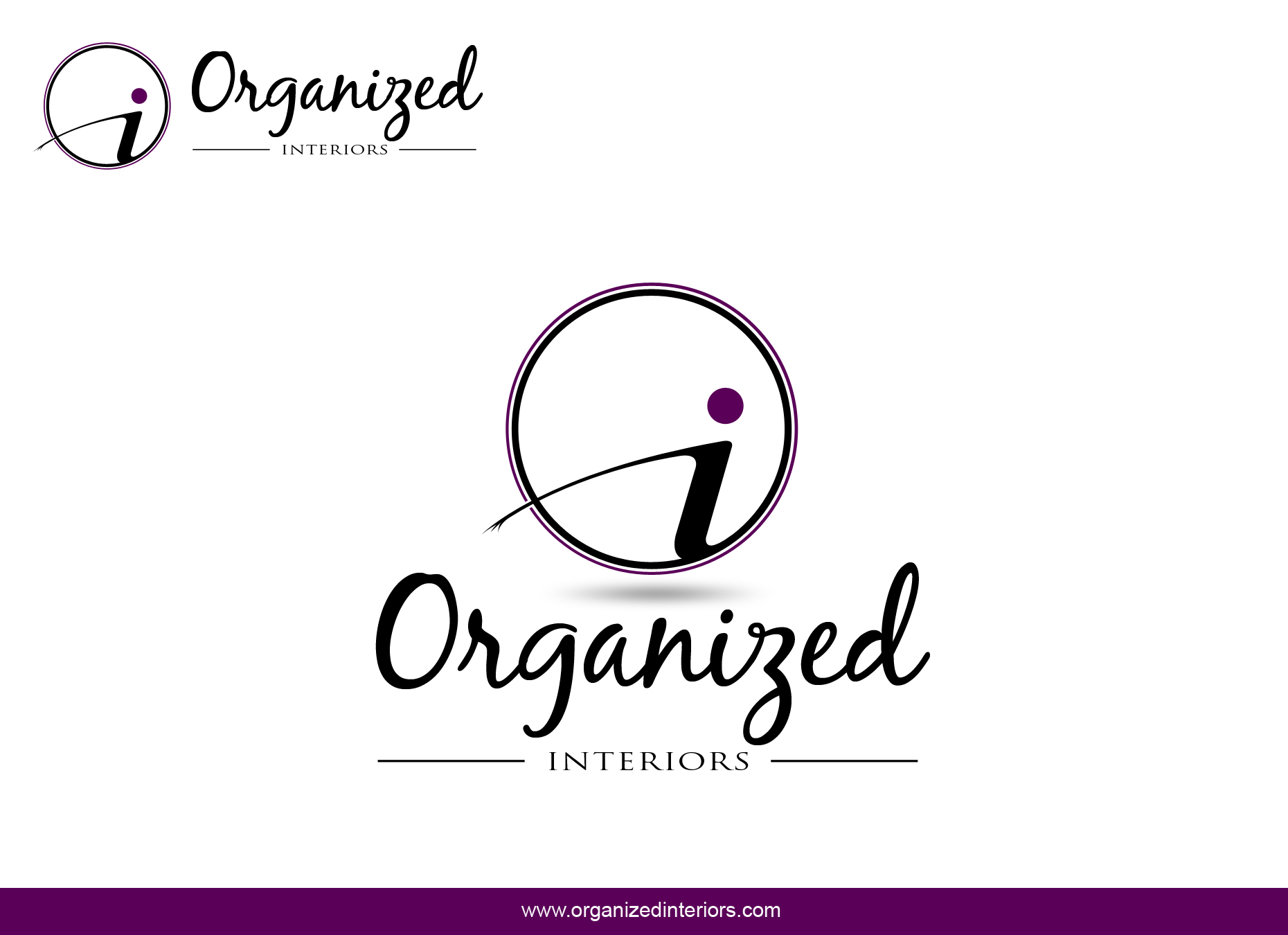 Logo Design by omARTist - Entry No. 168 in the Logo Design Contest Imaginative Logo Design for Organized Interiors.