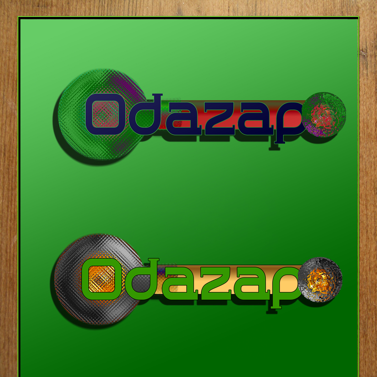 Logo Design by MITUCA ANDREI - Entry No. 116 in the Logo Design Contest New Logo Design for ODAZAP.