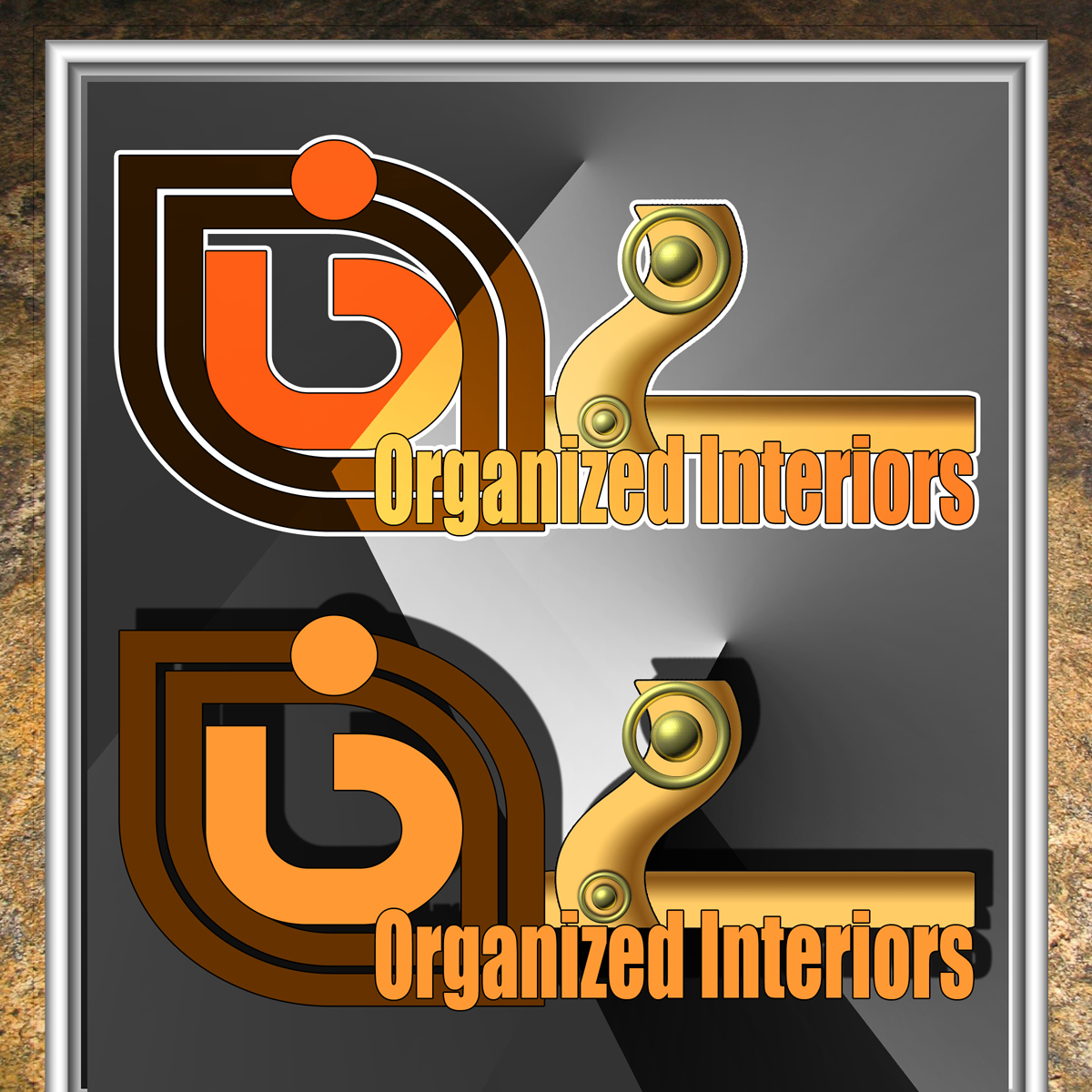 Logo Design by MITUCA ANDREI - Entry No. 171 in the Logo Design Contest Imaginative Logo Design for Organized Interiors.