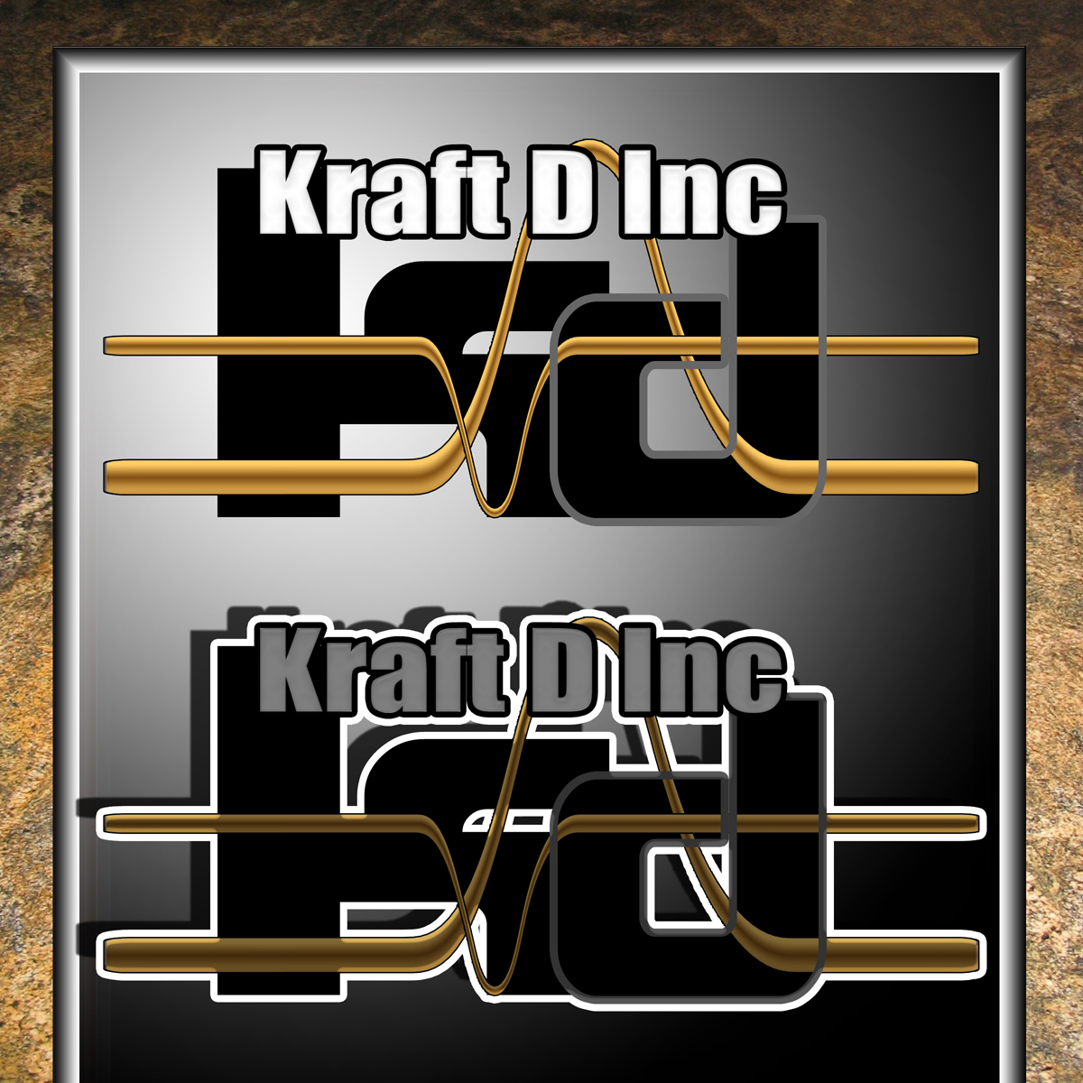Logo Design by MITUCA ANDREI - Entry No. 125 in the Logo Design Contest Unique Logo Design Wanted for Kraft D Inc.