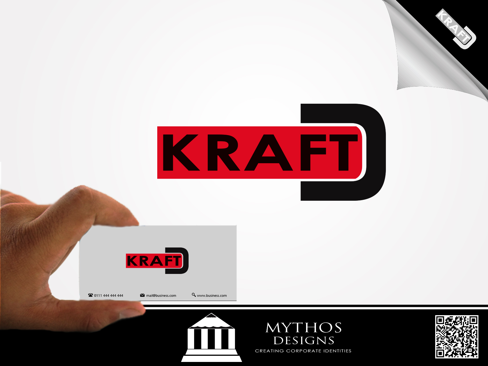 Logo Design by Mythos Designs - Entry No. 131 in the Logo Design Contest Unique Logo Design Wanted for Kraft D Inc.