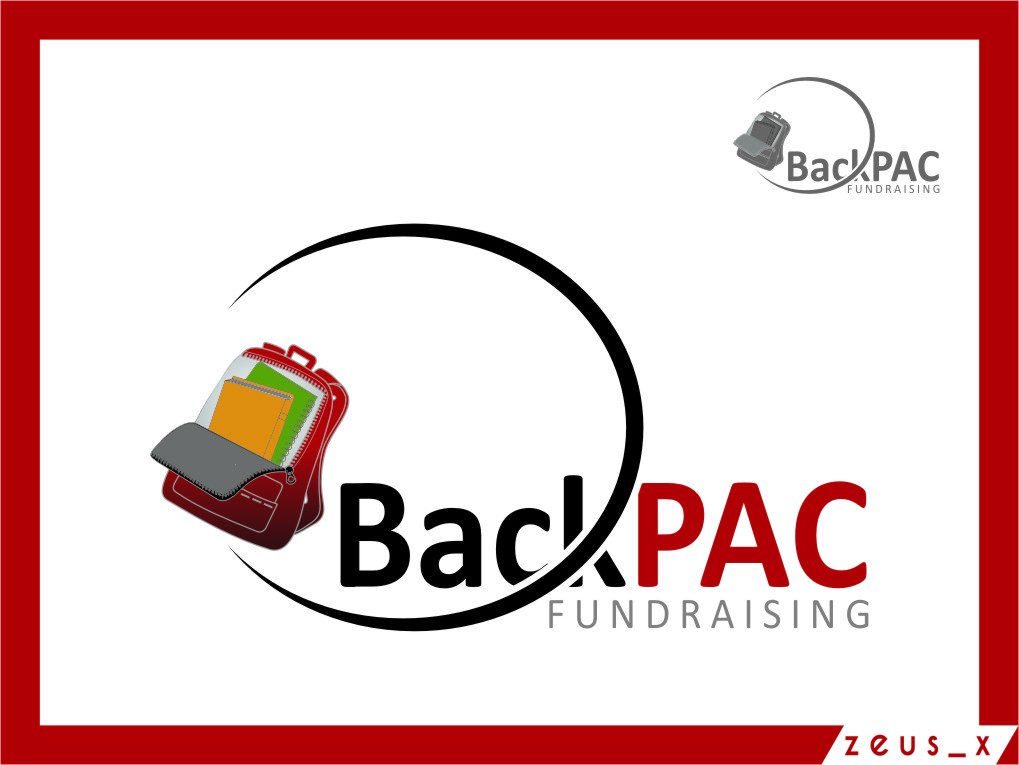 Logo Design by Ngepet_art - Entry No. 38 in the Logo Design Contest Imaginative Logo Design for BackPAC Fundraising.