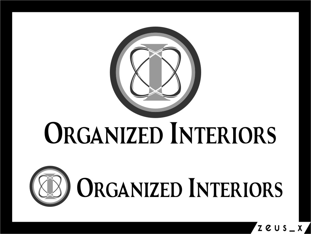 Logo Design by Ngepet_art - Entry No. 181 in the Logo Design Contest Imaginative Logo Design for Organized Interiors.