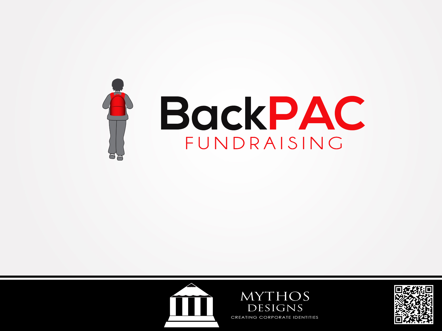 Logo Design by Mythos Designs - Entry No. 39 in the Logo Design Contest Imaginative Logo Design for BackPAC Fundraising.