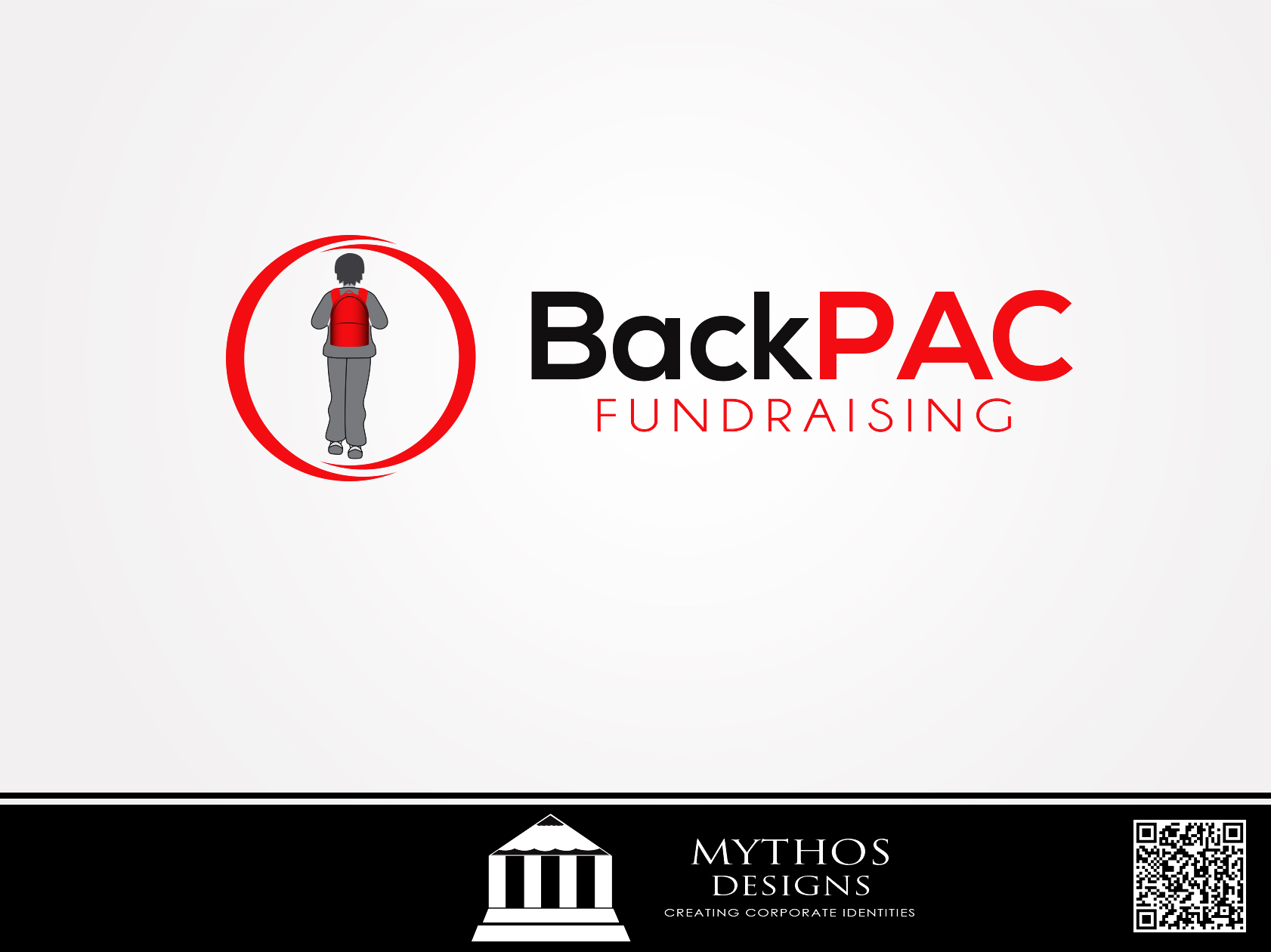 Logo Design by Mythos Designs - Entry No. 40 in the Logo Design Contest Imaginative Logo Design for BackPAC Fundraising.