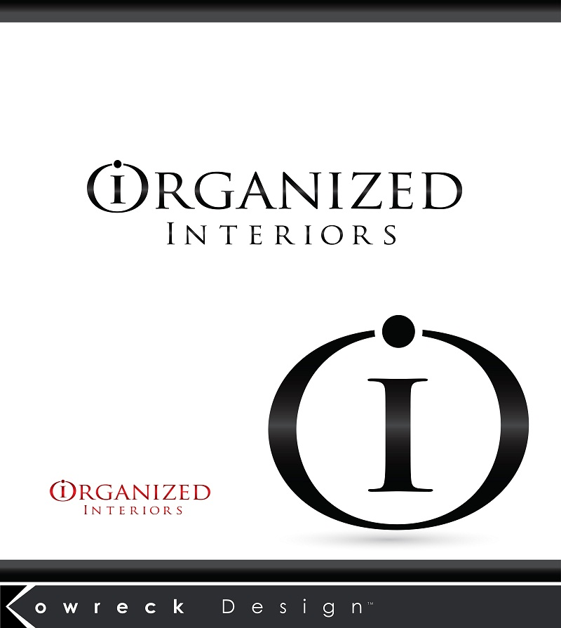 Logo Design by kowreck - Entry No. 187 in the Logo Design Contest Imaginative Logo Design for Organized Interiors.