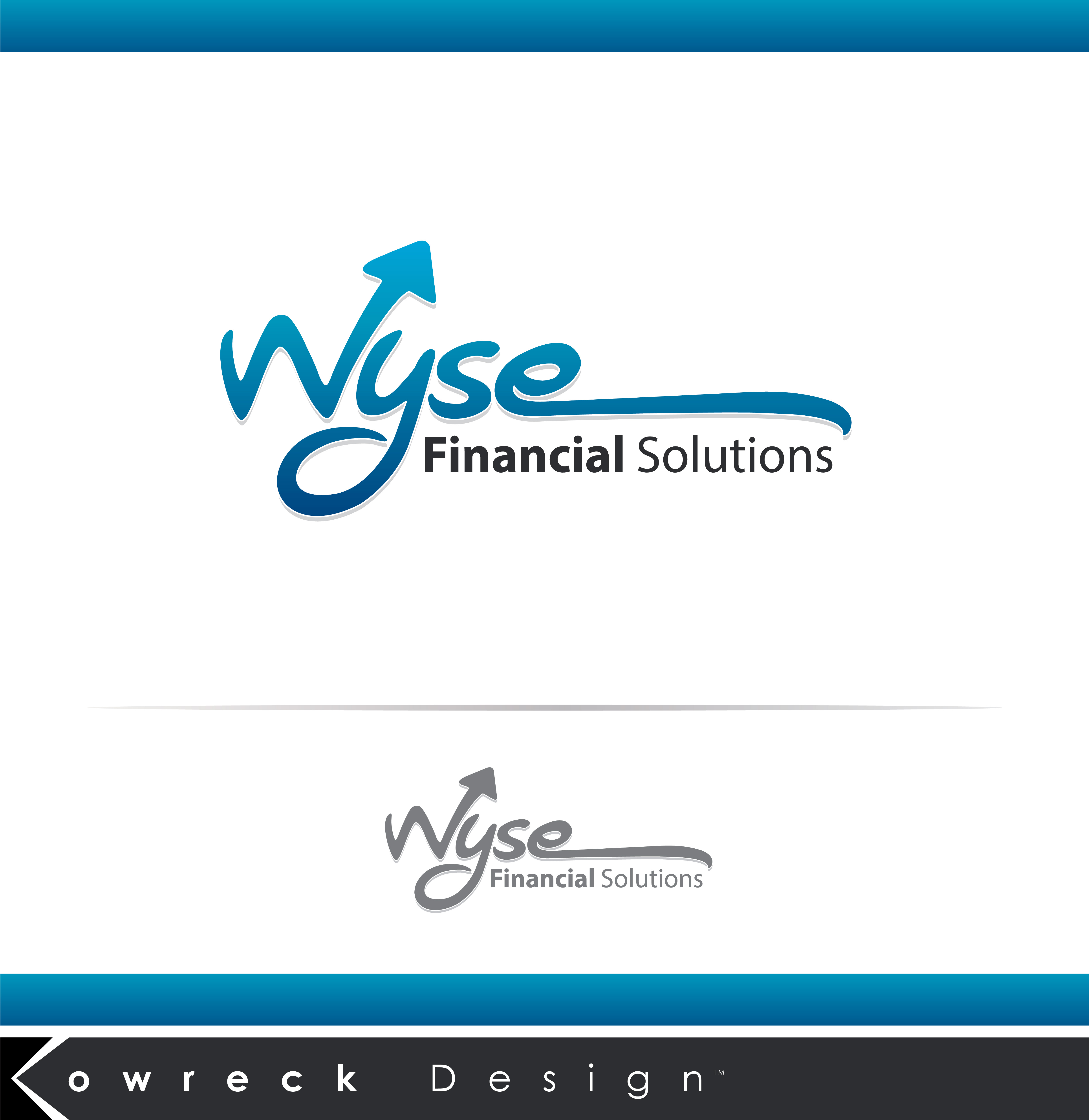 Logo Design by kowreck - Entry No. 45 in the Logo Design Contest Fun Logo Design for Wyse Financial Solutions.