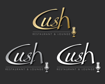 Logo Design by Desine_Guy - Entry No. 180 in the Logo Design Contest Cush Restaurant & Lounge Ltd..