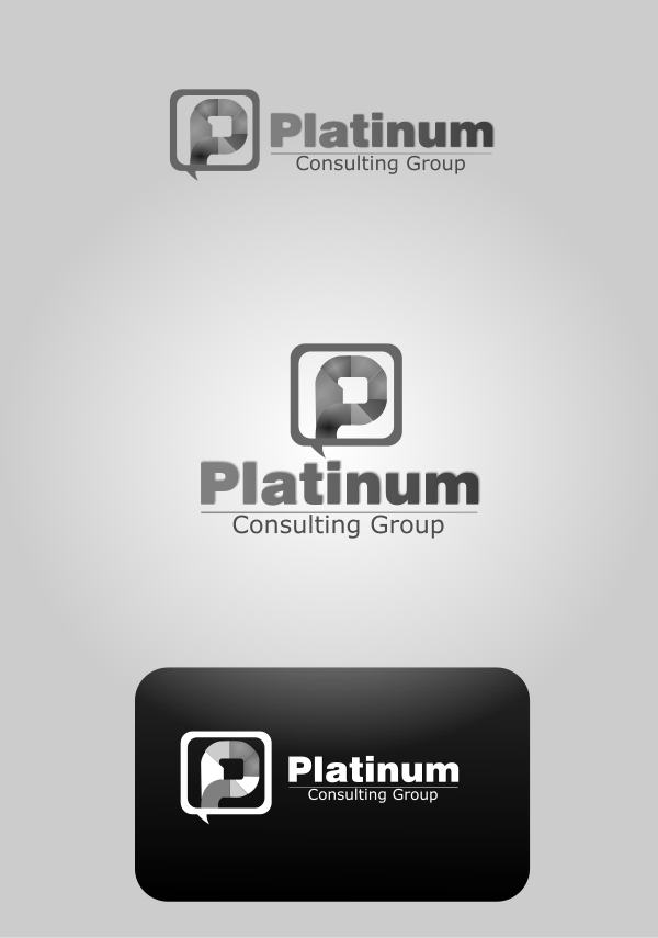 Logo Design by Private User - Entry No. 8 in the Logo Design Contest Captivating Logo Design for Platinum Consulting Group.