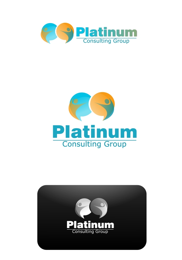 Logo Design by Private User - Entry No. 9 in the Logo Design Contest Captivating Logo Design for Platinum Consulting Group.